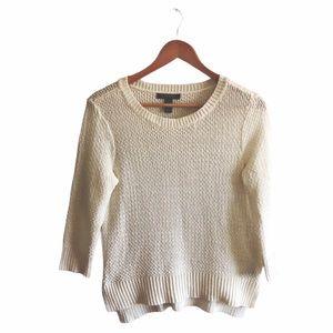 RALPH LAUREN    Knitted Cream Jumper